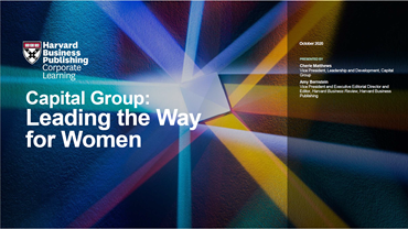 Capital Group: Leading the Way for Women